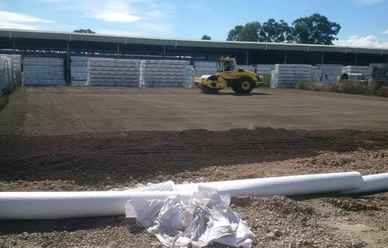 GEOmasta construction work